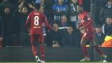 Ливърпул победи Генк с 2:1 в Шампионската лига