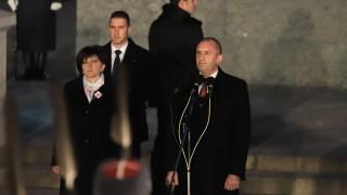 Румен Радев: Да почитаме паметта на героите е наше дело и отговорност