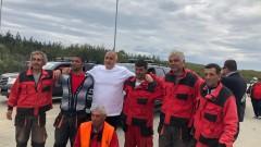 """Борисов провери ремонтите по АМ """"Тракия"""""""