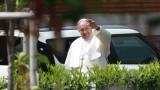 Всички в папската свита останали щастливи от визитата в България