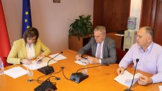 """БСП подписа предизборно споразумение с АБВ и """"Нормална държава"""""""