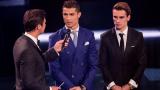 Кристиано Роналдо: Не виждам представители на Барселона тази вечер...