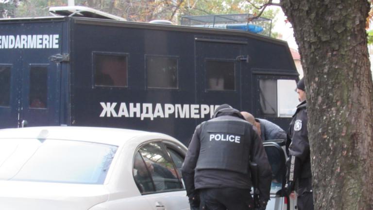 Жандармерия потушава скандал между два цигански клана в София