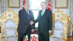 Организацията на срещата ЕС-Турция обсъдиха Борисов и Ердоган
