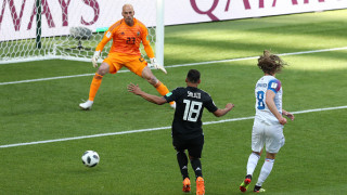 Аржентина - Исландия 1:1, Финбогасон изравни