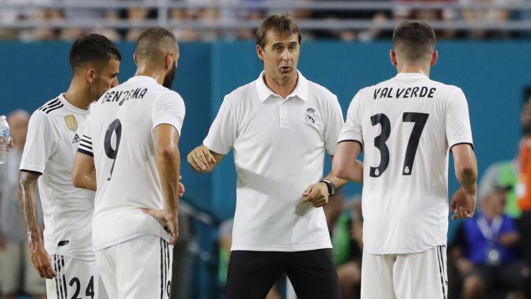 Треньорът на Реал (Мадрид) Хулен Лопетегикоментира загубата с 2:4 от