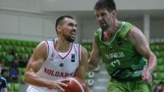 Тежко поражение за баскетболистите ни в Словения