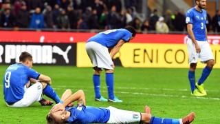 Италия ще загуби до €1 милиард, след като не се класира на Световното