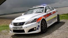 Британската полиция получи първия си Lexus IS F