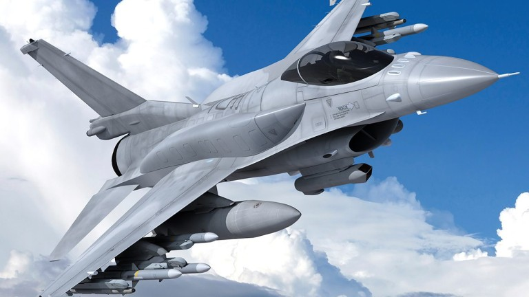 Джим Робинсън: Радарната система на F-16 Block D следи 20 цели едновременно