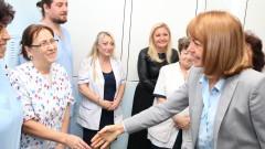 Столична община инвестирала 600 хил. лв. в Първа градска болница, хвали се Фандъкова