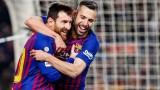Жорди Алба е близо до завръщане за Барселона