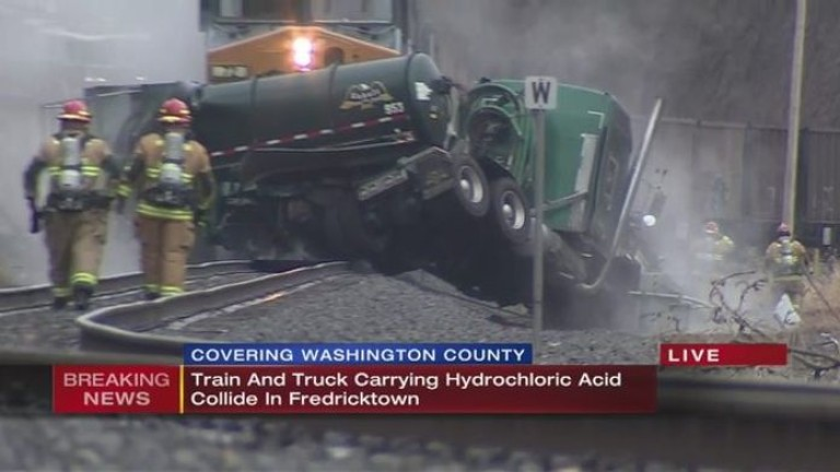Влакова катастрофа в Пенсилвания