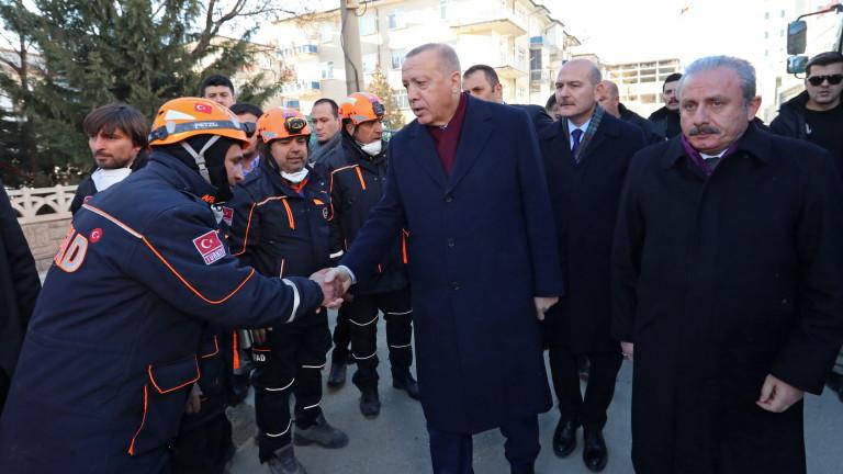 Президентът на Турция Реджеп Ердоган обяви, че Русия не спазва