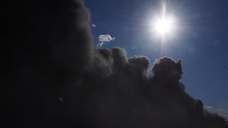 В Гълъбово пак дишат серен диоксид