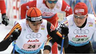 Щафетата на Германия спечели първия старт на 4х10 км за мъже