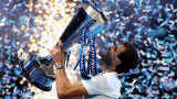 Григор Димитров спечели турнира на шампионите в Лондон след драма срещу Давид Гофен