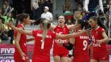 """Волейболните """"лъвици"""" отпътуваха за решителния турнир в Холандия"""