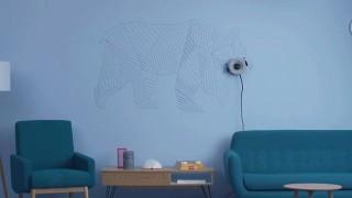 Роботът, с който стените оживяват