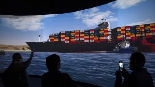 Заседналият в Суецкия канал кораб Ever Given е освободен