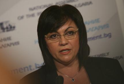 Иванов не реформира, а опитва да владее съдебната система, убедена Корнелия Нинова