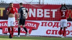 ЦСКА даде съблекалнята си на Осиек