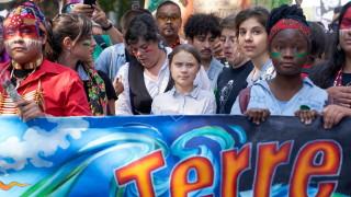 Тунберг поведе 500 000 души срещу климатичните промени в Монреал