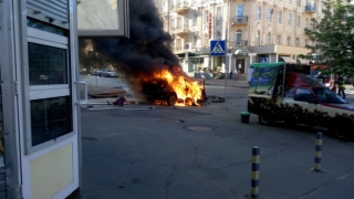 Бомба уби топ журналист в центъра на Киев