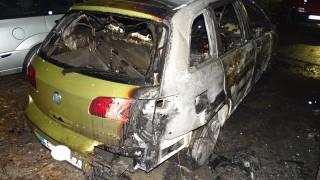 Жена e в болница след пожар в кола в Разград
