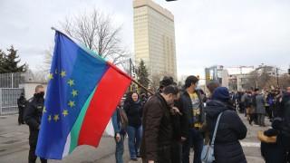 В София и Варна също протестираха в подкрепа на Навални