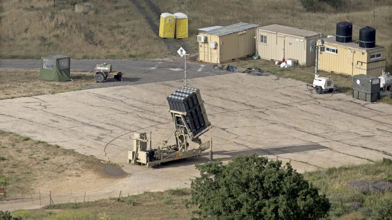 """Израел удари с ракета """"Пейтриът"""" дрон, дошъл от Сирия"""
