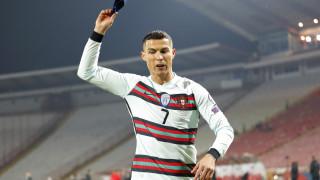 Какво се случи със захвърлената капитанска лента на Роналдо