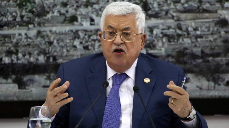 Палестина прекратява изпълнението на договорите с Израел