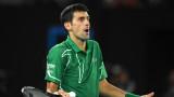 Новак Джокович коментира дисквалификацията си