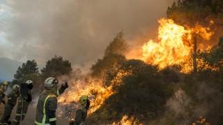 Пожар евакуира 22 140 души в Барселона