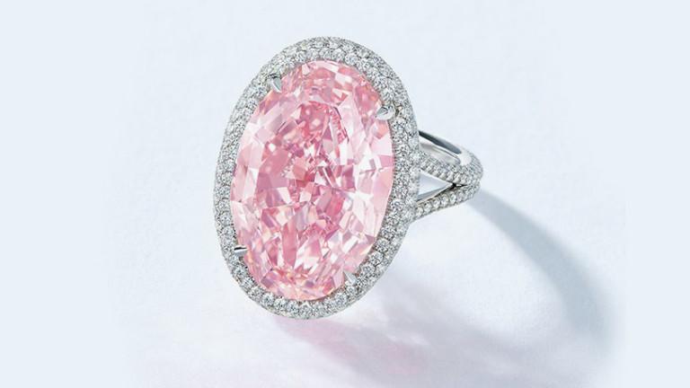 32 млн. долара струва рядък розов диамант