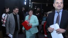 Единодушно пленумът на БСП даде вот на доверие на Нинова