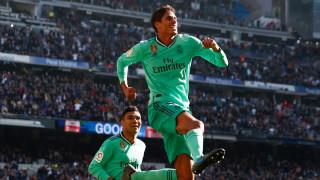 Реал (Мадрид) временно на върха в Испания след победа над Еспаньол