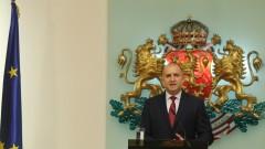 Президентът свика новите депутати на 15 април