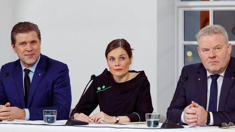 В Исландия сформираха трипартийна коалиция