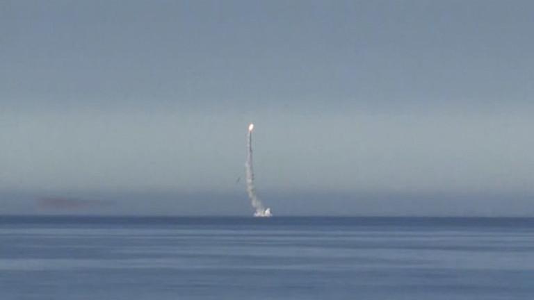 Русия изстреля крилата ракета от подводница в Черно море