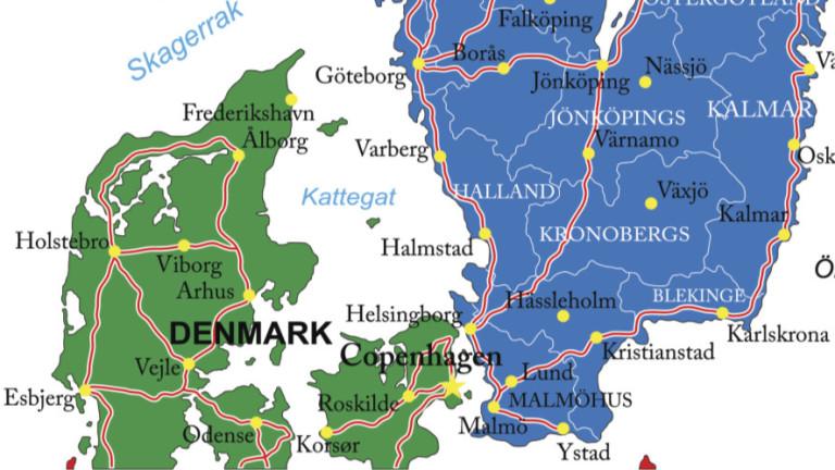 Дания въвежда контрол на границата с Швеция. Датските власти обясняват