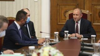 Радев очаква Италия да сподели опит за борба с корупцията по високите етажи на властта