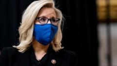 Републиканците в конгреса подкрепиха бунтарката Лиз Чейни