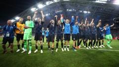 Златко Далич спази традицията след победата на Хърватия