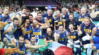 Италия е новият европейски шампион по волейбол