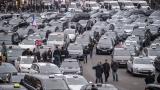 "Парижките таксиджии пак на протест срещу ""Юбер"""