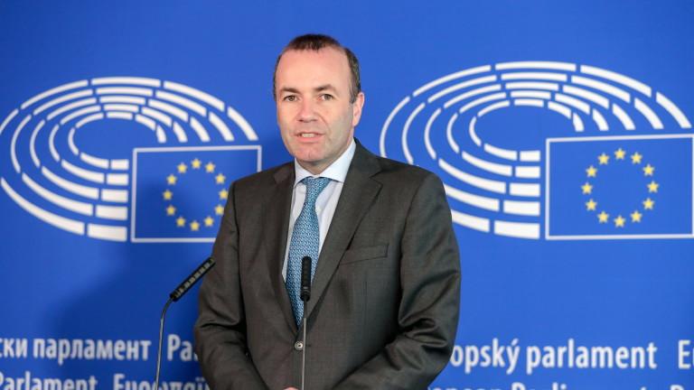 Манфред Вебер преизбран за лидер на ЕНП