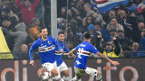 Сампдория спечели дербито на Генуа и се измъкна от зоната на изпадащите