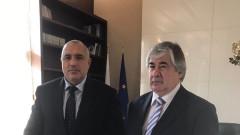 В мълчание руският посланик Макаров влезе при Борисов